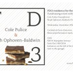 Save the date: FD13 fundraising event with live music