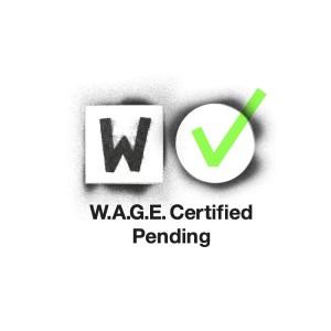 WAGE Pending Logo